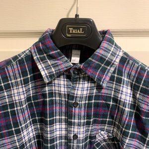 Men American Apparel Flannel